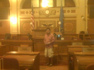 Bronson in the statehouse