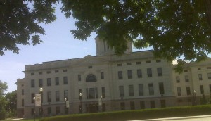 sorry this is crooked. it's the south dakota state capitol
